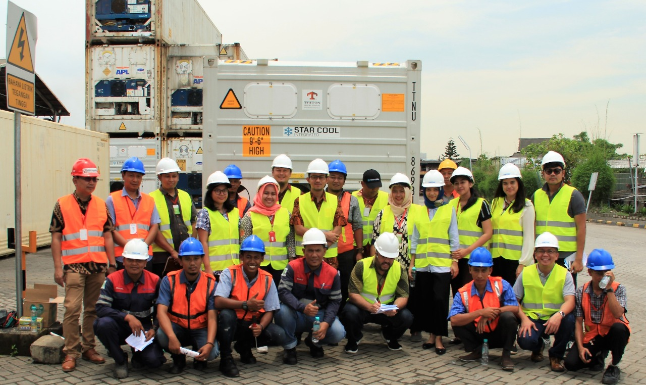"BSA Logistics as a service provider for ""The Star Cool Service"" In Jakarta"